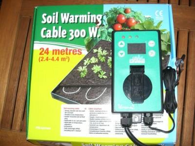 Teichheizkabel 300 Watt incl. Thermostat