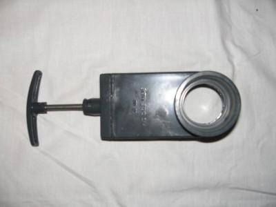 Zugschieber 50 mm 2x Klebemuffe