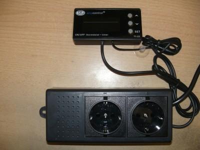 Temperatur Controller mit Zeitschaltuhr