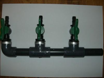 3-fach Verteiler 9 mm