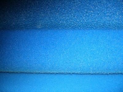3x Filtermatte Filterschaum 100x50x3cm 10 20 30 PPI