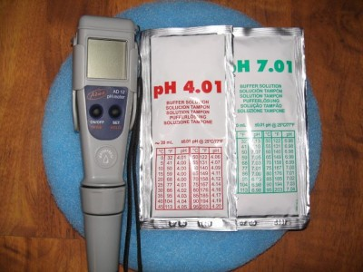 PH-Temperaturmessgerät incl. Kalibrierlösung
