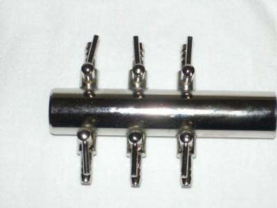 6-fach Verteiler 4mm